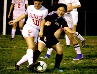 Clarion Area Girls Soccer Demonstrate First Half Scoring Frenzy to defeat Punxsutawney (Posted 09/29/20)