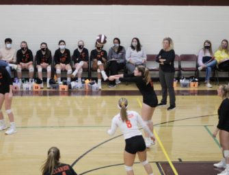 Volleyball: Lady Cats Down Lady Berries (Posted 10/15/20)