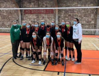 Clover Volleyball 14-Under Team Claims Tyrone Armory Tournament Title