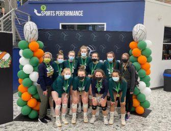 Clover-Serendipity 18U Wins 2021 Irish Rumble Volleyball Tournament