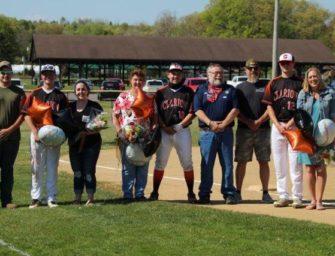 Bobcat Baseball Team Holds Senior Day To Honor Seniors And Their Folks