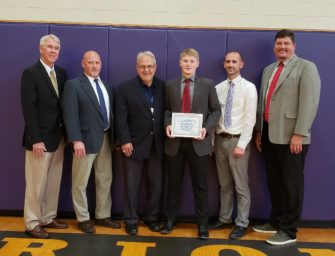 Jordan McCord-Wolbert Selected As North Clarion's And Central Clarion Wildcats' First Ever National Football Foundation And College Hall Of Fame-Central Pennsylvania Chapter Scholar Athlete