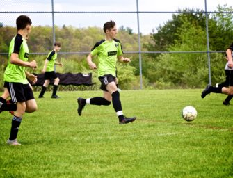 Clarion River Valley Strikers' Uckert Stuns Oil City with Hat Trick