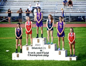 Evelyn Lerch Claims District Nine Class-AA 400 Crown, Trinity Thompson, Two Relays Medal, Numerous Top Ten Finishes For Wolves And She-Wolves
