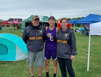 Evelyn Lerch Finishes Her First Season With She-Wolves Track And Field Team; Coach Jackson Pleased With Team's Bonding And Success This Season
