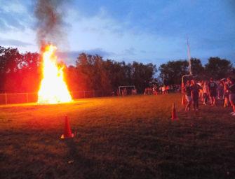 2021 Fall Sports Kickoff Bonfire Event Held