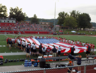 Wildcats Fall To Rockets In Season Opener, Join Together As Part Of Pregame Military Tribute