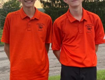 Co-medalists Devon Lauer And Kameron Kerle Lead Bobcats To First Place In Opening 2021 KSAC Golf Mega Match