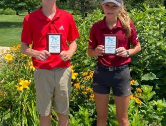 Mckayla And Kameron Kerle, Lucas Mitroski Qualify For Great Lakes Junior Golf Tour Championship