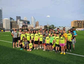 Clarion River Valley Strikers Soccer Club visit Pittsburgh Riverhounds