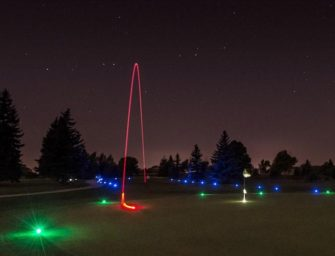 Glow in the Dark Golf is coming back to the DuBois Country Club