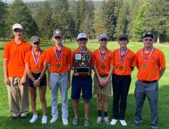 Clarion Boys Golf Team's Fine Team Season Ends In West Regional