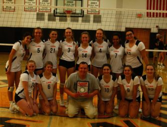Bobcats Dominant In Winning 2021 Clarion Area Varsity Volleyball Tournament Championship