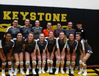 Clarion Area Claims Fourth Straight KSAC Volleyball Championship With Victory Over Keystone