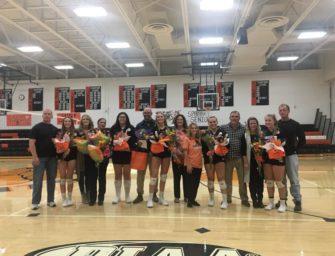 Volleyball Holds Senior Night