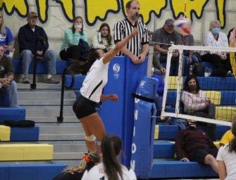 Clarion Downs Union In KSAC Volleyball Action